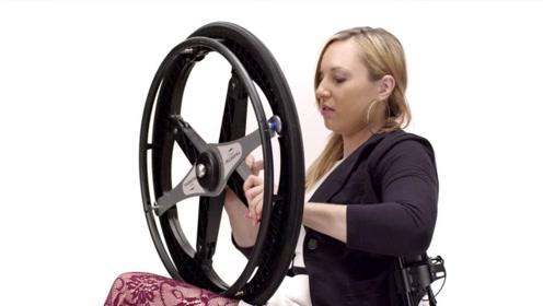 """可以折叠的""""轮胎"""",原理也太简单了吧!"""