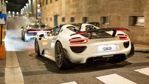 超级跑车现身街头,有法拉利、保时捷、兰博基尼等,太霸气了!
