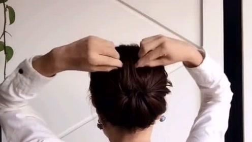 参加儿子婚礼这样盘发,超级优雅有气质
