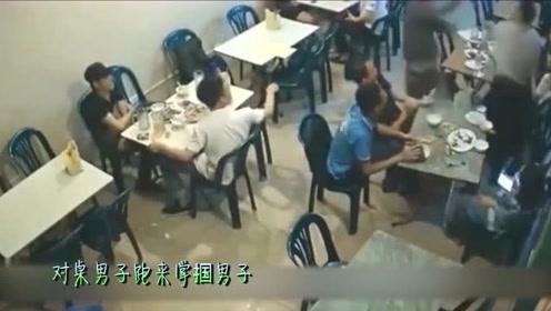 男子这顿饭局看清两个朋友,就算被别人打也值了!