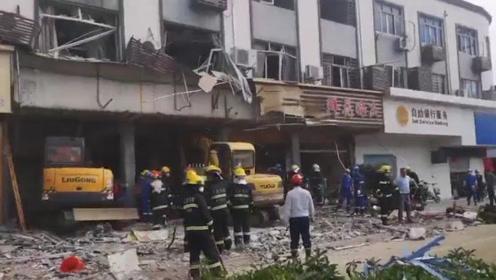 无锡小吃店燃气爆炸已致9死10伤 救援工作结束现场废墟一片