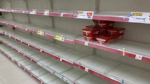 台风天日本民众拒屯韩国泡面,只是单纯的不想吃?