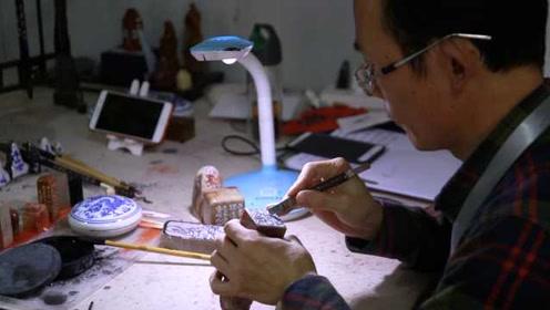 他把中国印章卖到全球,一年销售2亿元用掉1500吨石头