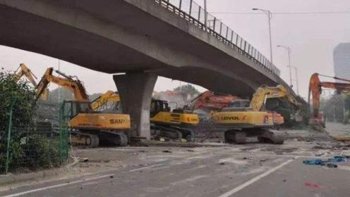 无锡高架桥坍塌最新消息:钢材车超载120吨上路,重187吨!