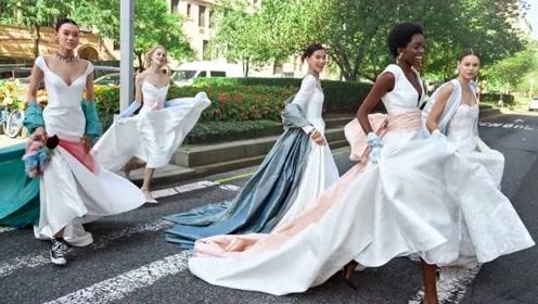 2020秋冬婚纱:穿上帆布鞋去结婚,写给纽约的一封情书
