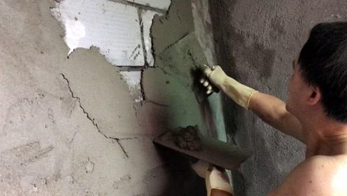 工地刚来的泥工师傅,开口一天要600工资,你看这技术如何?