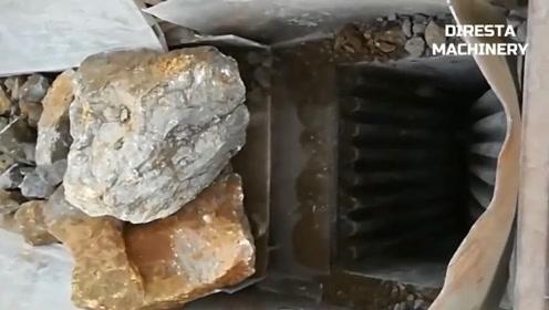 无所不能的粉碎机,连大石块也能轻松搞定!