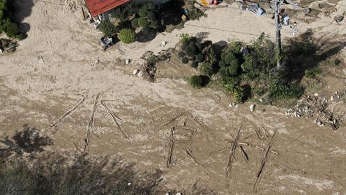 断电断水断粮!日本台风已致74人死 民众地上写字求水粮