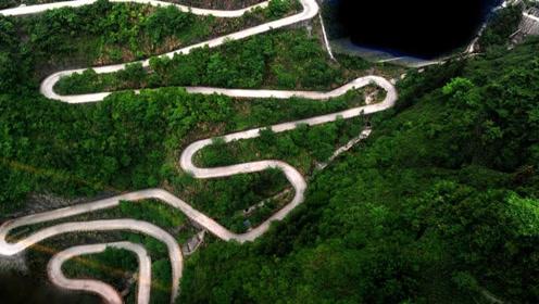 中国命最好的公路 原本想节约成本 没想到变成奇迹