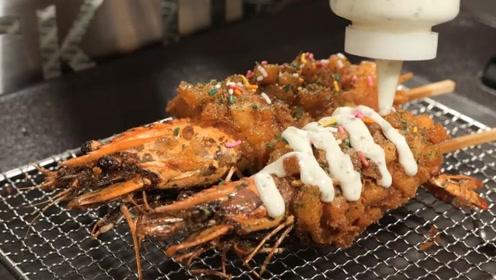 炸芝士龙虾你有吃过?路过看一眼就被吸引住