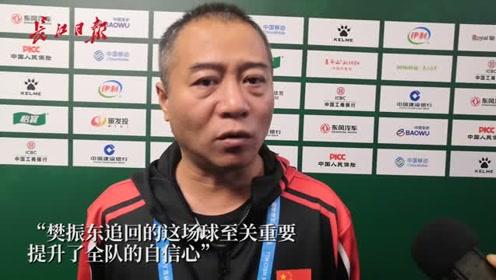 乒乓球男子团体遭遇朝鲜队,主教练王涛:樊振东追回这场球很重要