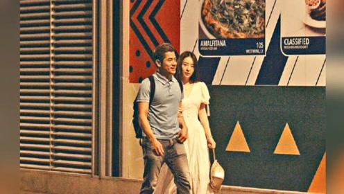 郭富城携小22岁娇妻现身,牵手方媛陪她过浪漫二人世界