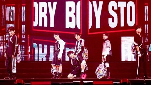 BOY STORY-《Too Busy》现场版,清澈少年帅气满格
