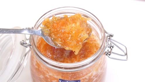 吃不完的柚子不要扔,教你做成蜂蜜柚子茶,酸酸甜甜,清香又好喝