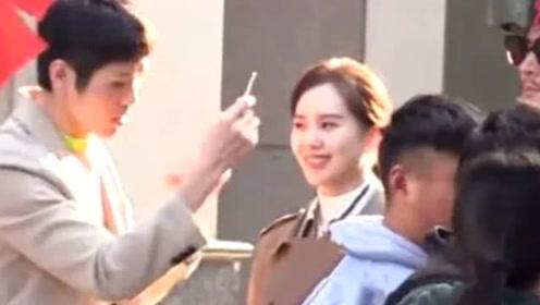 刘诗诗新戏路透曝光产后皮肤超好,与朱一龙亲密戏画面十分养眼