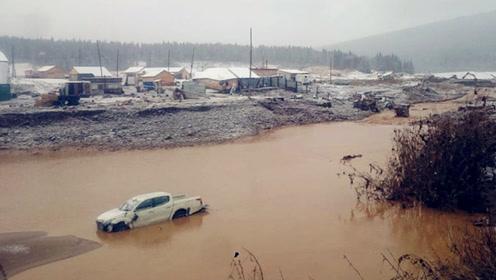 俄罗斯一家金矿公司的水坝垮塌水淹员工宿舍 事故已造成13人死亡