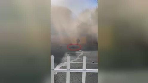 网曝哈尔滨一楼房倒塌烟尘弥漫?实际情况竟是这样