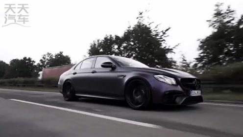 梅赛德斯E63s AMG 王自如同款