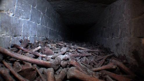 闻名于世的巴黎地下墓穴,老外爬进去一看瞬间被震撼了!