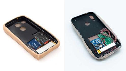 给手机挠痒痒!人造皮肤手机壳你爱吗?