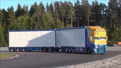 太牛了,货车加拖挂,运力翻倍,这要什么驾驶证才能开?