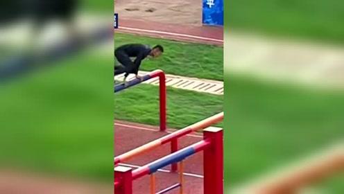 中国选手潘玉程障碍跑破世界纪录