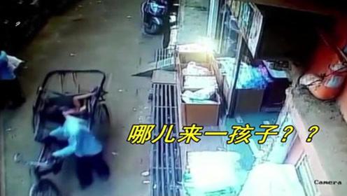 差一秒都不行!3岁幼儿从10米高楼上掉落 正好摔入过路黄包车后座