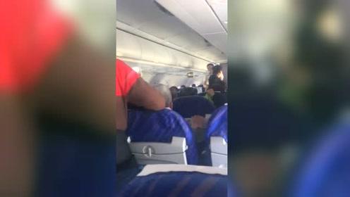 飞机坐出了火车的感觉,而且还是绿皮的