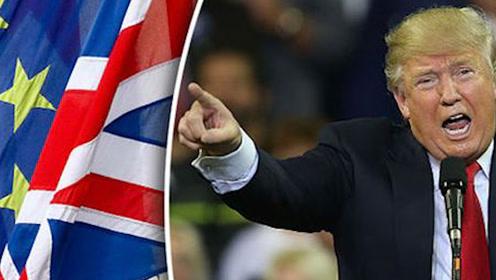 特朗普贸易大棒砸向欧盟 法国有人扛不住了
