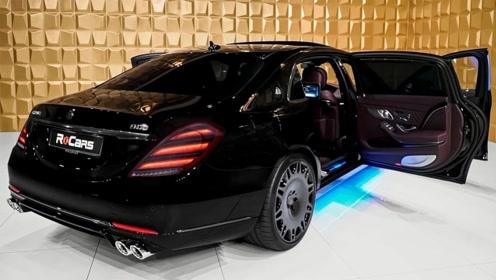 2020款奔驰巴博斯S900,外观和内饰实拍