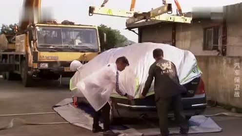 男子发明汽车漂浮垫,突降暴雨再也不怕爱车被淹了!