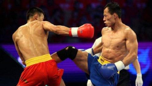 世界散打冠军朱扬涛最具威力的腿法