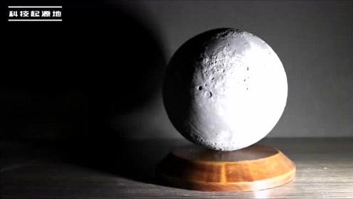 20支蜡烛,竟还能做出一颗月球来,真也太像真的了!