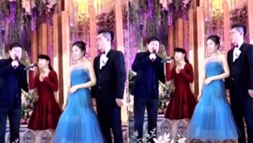 付笛声任静现身粉丝婚礼 为新人送祝福再唱经典情歌