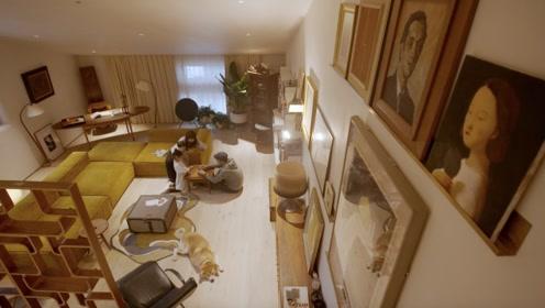 坐电梯去卧室,每月换套古董家具……北京五环外的四口之家,羡慕!
