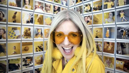 国外美女沉迷黄颜色无法自拔,谁劝也不听,这是怎么回事