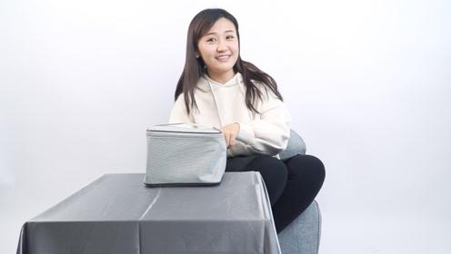 开箱清蜓智能便携干衣机,小户型租房族宿舍党超实用