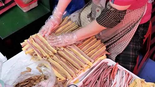 外国紫菜包饭怎么切?一个机器方便又快捷