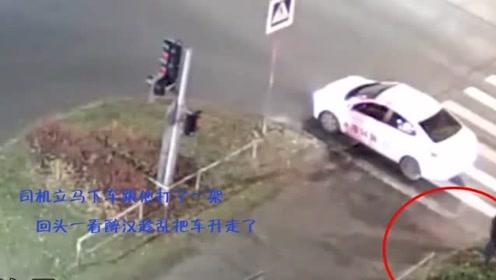 司机开车遇到醉酒男子找茬,下车跟他打了一架,没想到悲剧了