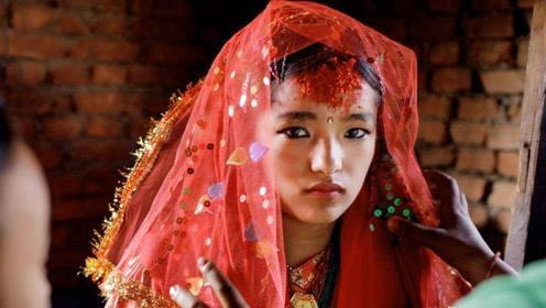 尼泊尔为何没有寡妇?这里的女孩7岁就结婚,一生总共结三次婚!