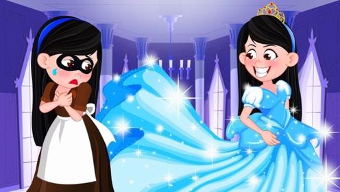 女孩从小被后妈欺负,幸运邂逅仙女后美丽变身,与王子一见钟情?