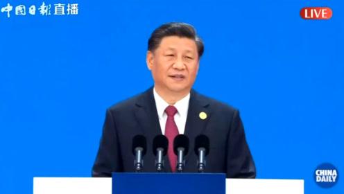 习近平:中国开放的大门只会越开越大