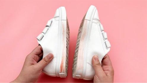 清理鞋子白边,只需一个小妙招轻松搞定,真的这么厉害?来看看