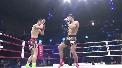 泰拳王播求也为他鼓掌,中国小将出拳快准狠,KO拳王对手