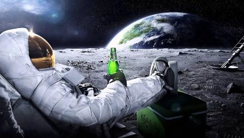 国外实验达人竟然把啤酒送上太空,看到这画面真佩服这些人啊!