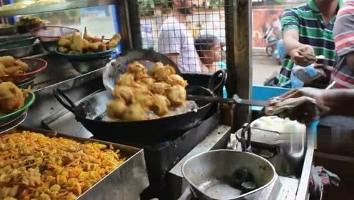 印度食品,万物皆可炸,西红柿鸭蛋不在话下