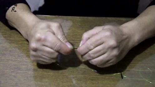 八字环与主线连接容易断,教你加固方法,再也不为断主线跑鱼烦恼