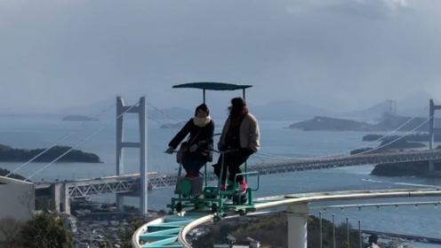 日本最恐怖的过山车,速度看起来很慢,坐过的人都不想尝试第二次