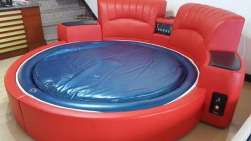 """网红酒店提供的""""水床"""",里面到底装的什么?服务员道出实情!"""