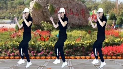 霞子广场舞《多年以后DJ版》鬼步舞53步正反对跳一看就会